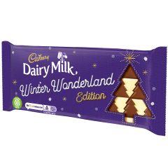Cadbury Dairy Milk Winter Wonderland Edition Bar 100g