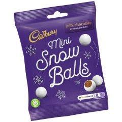 Cadbury Mini Snow Balls Bag (80g)