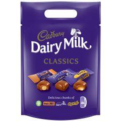 Cadbury Dairy Milk Chunk Mixed Pouch (380g)