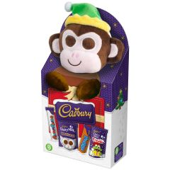 Cadbury Selection Box Buttons Monkey Toy 70g