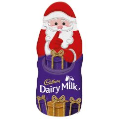 Cadbury Dairy Milk Hollow Chocolate Santa 100g