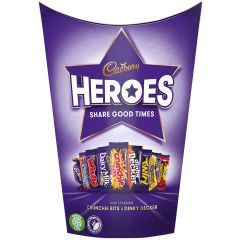 Cadbury Heroes 185g Carton