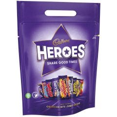 Cadbury Heroes Pouch (357g)
