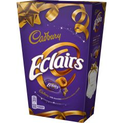 Cadbury Chocolate Eclairs Carton 420g