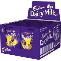 Dairy Milk Mini Eggs Bag 86g (Box of 18)