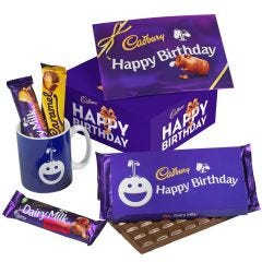 Happy Birthday Chocolate & Mug Set