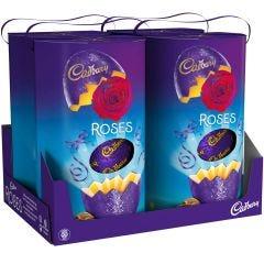 Cadbury Roses Easter Egg 280g (Box of 4)