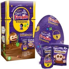 Cadbury Dairy Milk Buttons Treasures Egg 143g