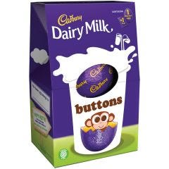 Dairy Milk Buttons Egg 128g (Box of 9)