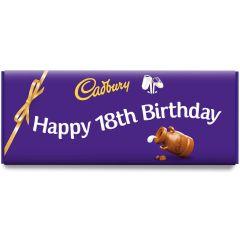 Happy 18th Birthday Dairy Milk Bar (850g)