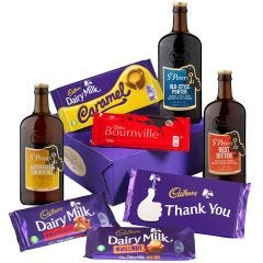Cadbury Thank You Bars & Beers Hamper