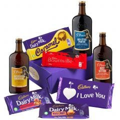 Cadbury Love Bars & Beers Hamper