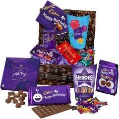 Cadbury Birthday Chocolate Basket