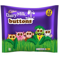 Cadbury Buttons Treatsize Minis 12 Pack 170g
