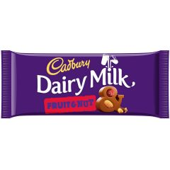 Dairy Milk Fruit & Nut 110g