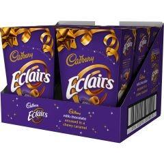 Cadbury Chocolate Eclairs Carton 420g (Box of 6)