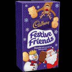 Cadbury Festive Friends Biscuits 150g