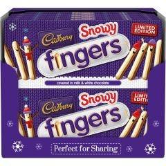 Cadbury Snowy Fingers Box (115g) Box of 20