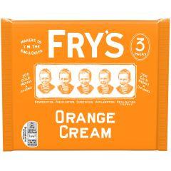 Fry's Chocolate Orange Cream Chocolate Bars 3 Pack