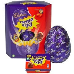 Cadbury Creme Egg Giant Easter Egg (497g)