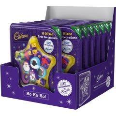 Cadbury Chocolate Tree Decorations 136g (Box of 10)