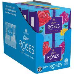 Cadbury Roses Chocolate Gift Carton 115g (Box of 10)