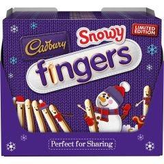 Cadbury Snowy Fingers Box (230g) Box of 10