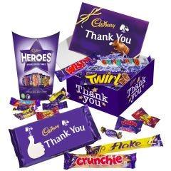 Cadbury Chocolate Thank You Gift