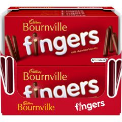 Cadbury Bournville Fingers Box  114g (Box of 20)