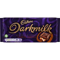 Cadbury Darkmilk Roasted Almond Bar 85g