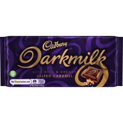 Cadbury Darkmilk Salted Caramel Bar 85g
