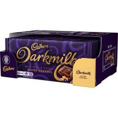 Cadbury Darkmilk Salted Caramel Bar 85g (Box of 16)