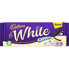 Cadbury White Oreo Bar 120g