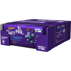 Cadbury Dairy Milk Out Of The Blueberry Bar 105g (Box of 19)