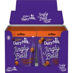 Cadbury Dairy Milk Jingly Bells Chocolate Noisette Bag 82g (Box of 16)