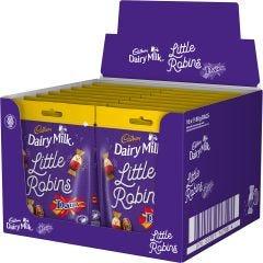 Cadbury Dairy Milk Little Robins Daim Bag 88g (Box of 16)