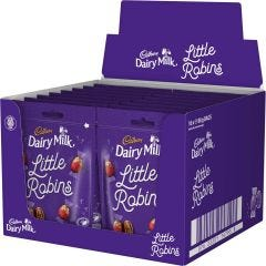 Cadbury Dairy Milk Little Robins Bag 88g (Box of 16)