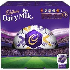 Cadbury Dairy Milk Chocolate Large Football 455g