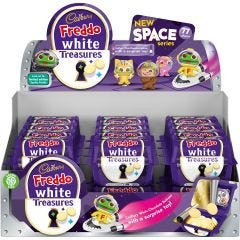 Cadbury Freddo White Treasures 14.4g  (Box of 24)