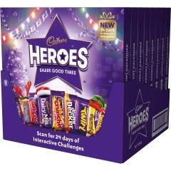 Cadbury Heroes Advent Calendar 230g (Box of 8)