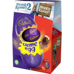Cadbury Creme Egg Shell Egg 138g (Box of 9)