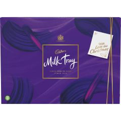 Cadbury Milk Tray 530g with Christmas Sleeve (Box of 4)