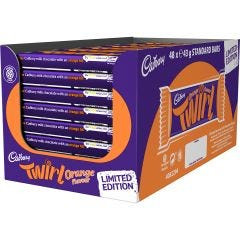 Cadbury Orange Twirl 43g (Box of 48)