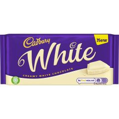 Cadbury White Chocolate Bar 180g