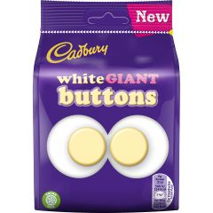Cadbury Giant White Buttons  Bag 110g