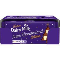 Dairy Milk Winter  Edition 100g Bar (Box of 20)