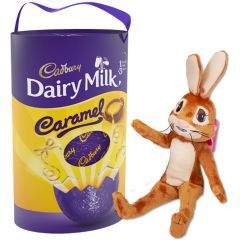 Cadbury Caramel Egg & Bunny