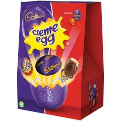 Cadbury Large Creme Egg Shell Egg (258g)