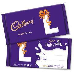 Monogram 'L' Dairy Milk Gift Bar (200g)