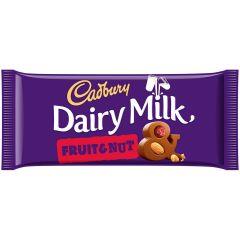 Dairy Milk Fruit & Nut 200g (Box of 15)